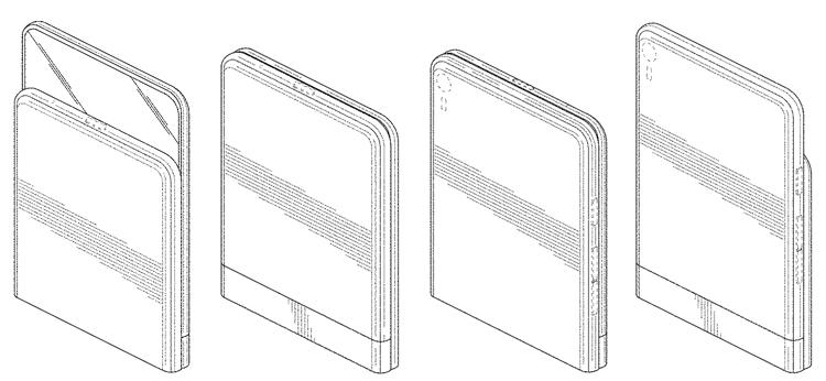 """Sharp предложила хитроумную конструкцию гибкого смартфона"""""""