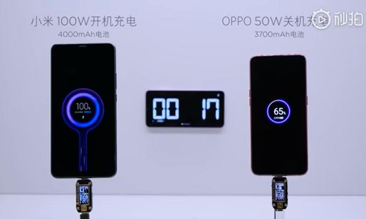 """Смартфоны Xiaomi получат сверхбыструю зарядку мощностью 100 Вт"""""""