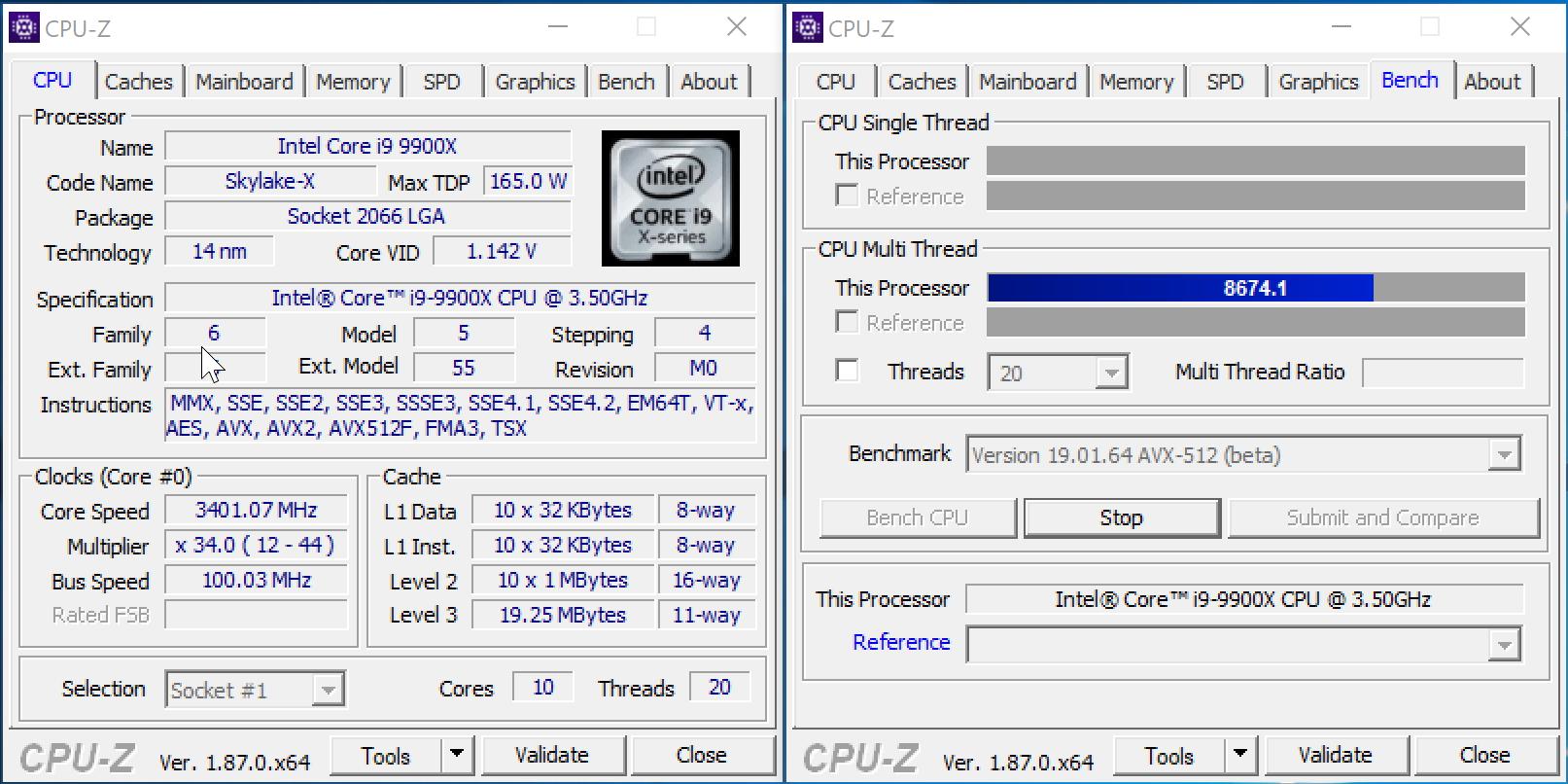Core i9-9900X против Core i9-9900K: буква меняет всё