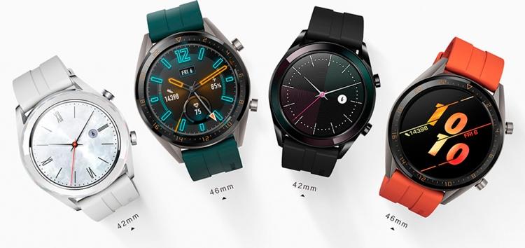 """Huawei Watch GT: выпущены две новые версии смарт-часов"""""""