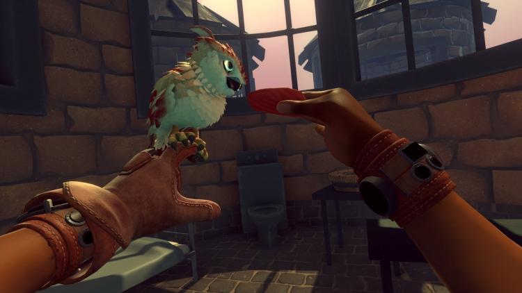 """Ручной сокол и борьба за свободу — приключенческий экшен Falcon Age для PS4 выйдет 9 апреля"""""""