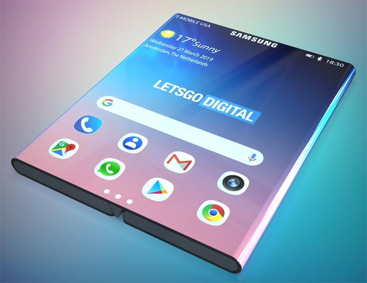"""По стопам Xiaomi: Samsung проектирует смартфон двойного сложения"""""""