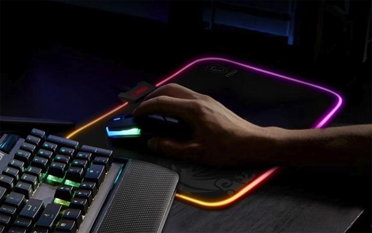 """MSI наделила RGB-подсветкой коврик для мыши Agility GD60"""""""