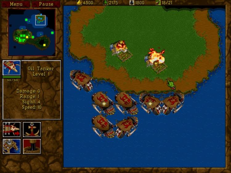 """Blizzard выпустила в GOG классические Warcraft: Orcs & Humans и Warcraft II"""""""