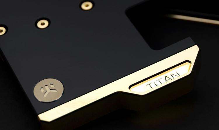 """EK Water Blocks использовала золото при создании водоблока для Titan RTX"""""""