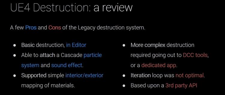 """Видео: полная версия впечатляющего технодемо системы физики и разрушений Chaos движка Unreal"""""""