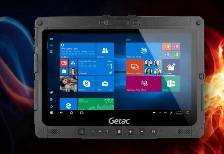 """Getac K120-Ex: защищённый планшет для промышленного использования"""""""