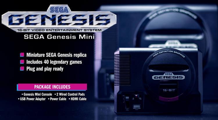 """Ретро-консоль Sega Mega Drive Mini выйдет в сентябре с 40 предустановленными играми"""""""
