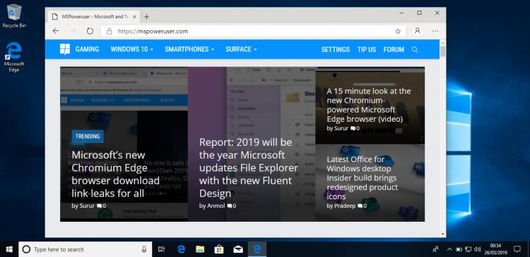 """Microsoft готовится к развёртыванию Microsoft Edge для инсайдеров Windows"""""""