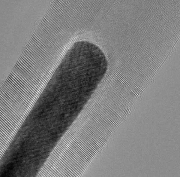 """Нафаршированные магнитными частицами нанотрубки могут повысить плотность записи на жёстких дисках"""""""