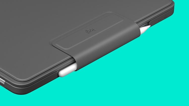 "Logitech Slim Folio Pro: чехол с клавиатурой для планшетов Apple iPad Pro"""