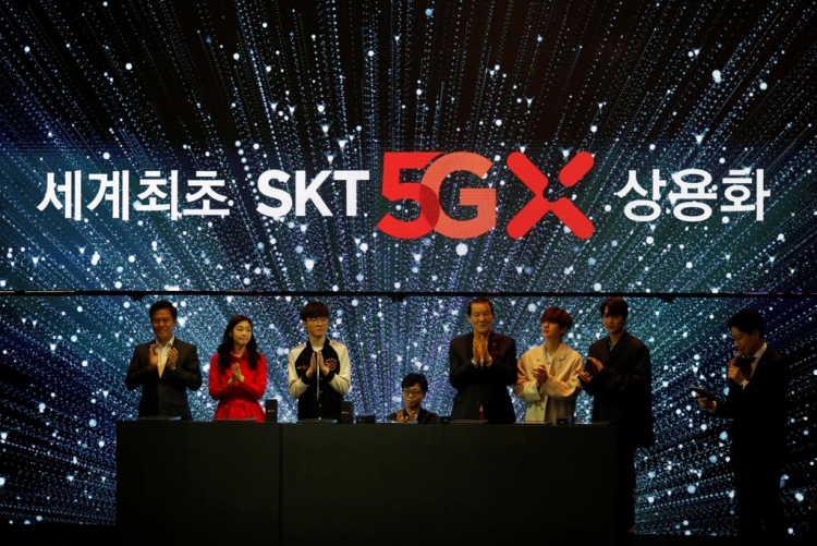 В конце недели Южная Корея запустит 5G-сервисы, опередив США и Китай