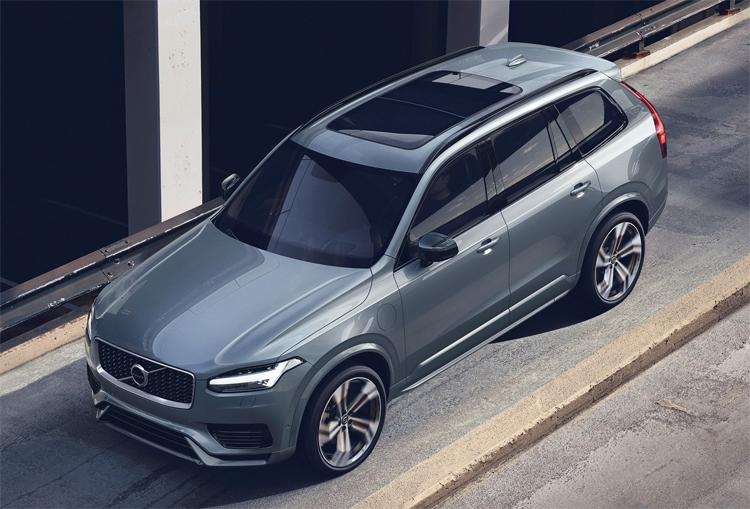 """Обновлённый внедорожник Volvo XC90 получил передовую систему рекуперации энергии при торможении"""""""