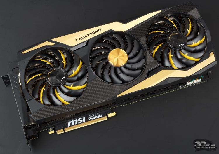 Обзор видеокарты MSI GeForce RTX 2080 Ti LIGHTNING Z: молния бьет дважды