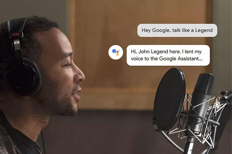 """Видео: Google Assistant заговорит голосом знаменитостей, первая ласточка — Джон Ледженд"""""""