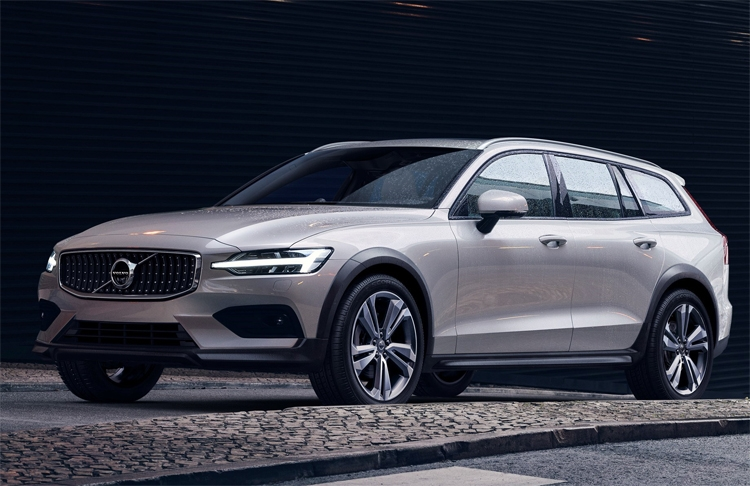 Универсал Volvo V60 Cross Country может самостоятельно передвигаться на скоростях до 130 км