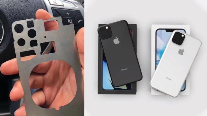 """Фото шасси iPhone 2019 подтверждает конструкцию основной камеры из трёх модулей"""""""