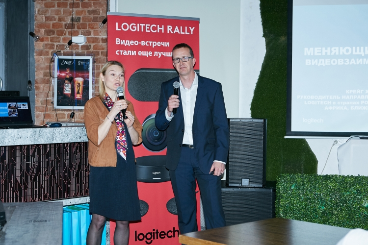 "Logitech анонсировала модульную конференц-камеру Rally"""
