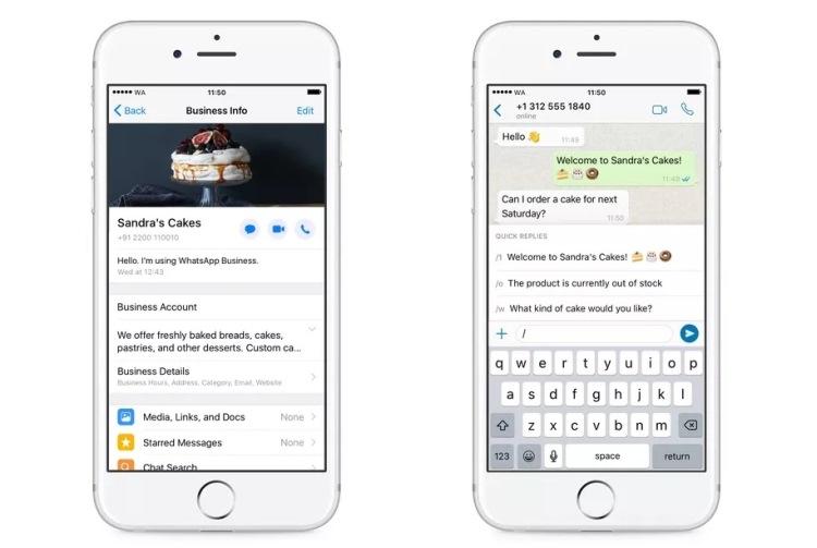 "Приложение WhatsApp Business теперь доступно для устройств на базе iOS"""