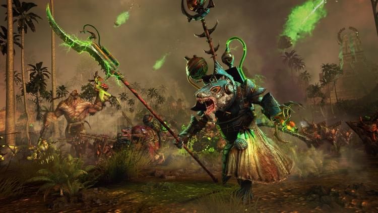 """Схватка скавенов с людоящерами в Total War: Warhammer II – The Prophet & The Warlock намечена на 17 апреля"""""""