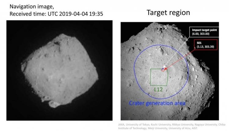 Японский зонд Хаябуса-2 устроил взрыв на астероиде Рюгу | Korrespondent.net