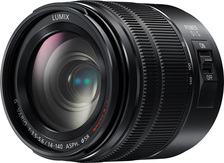 """Обновлённый объектив Panasonic Lumix G 14-140mm F3.5-5.6 защищён от влаги и пыли"""""""