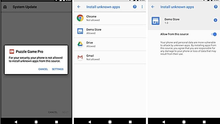 """Android Q усложнит установку приложений из непроверенных источников"""""""