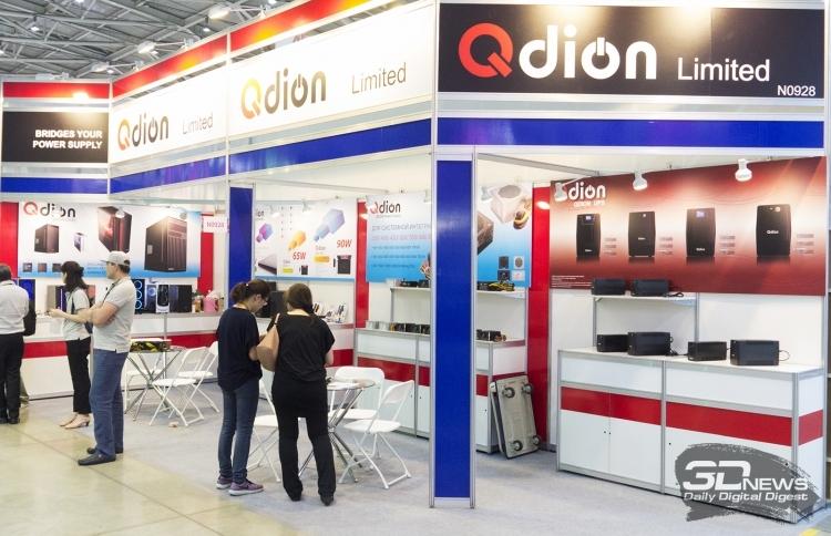 Стенд QDION на выставке Computex 2018