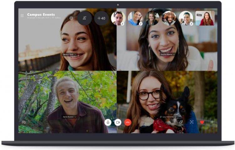 """В видеочате Skype теперь могут общаться вдвое больше пользователей"""""""