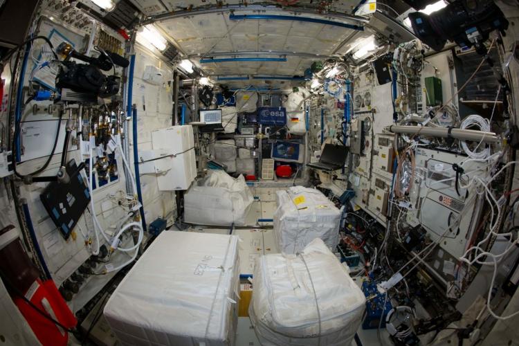 """Специалисты NASA выяснили, что МКС «кишит болезнетворными бактериями»"""""""