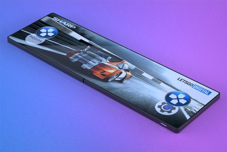 """Игры в новом формате: Sharp создаёт гибкий смартфон для геймеров"""""""