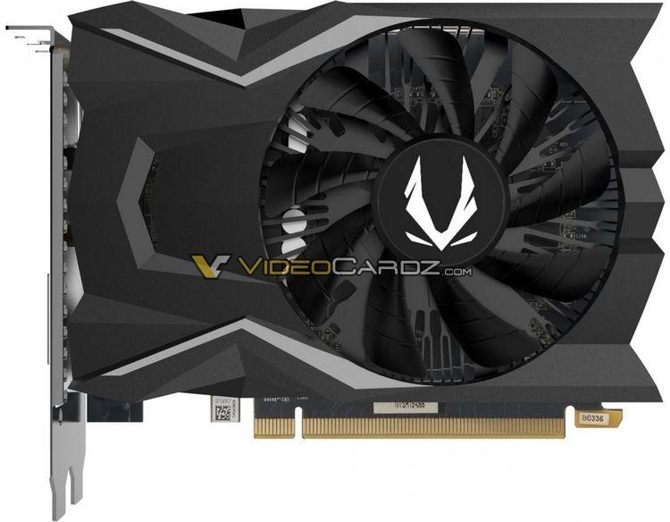 """Видеокарта Zotac GeForce GTX 1650 не требует дополнительного питания"""""""