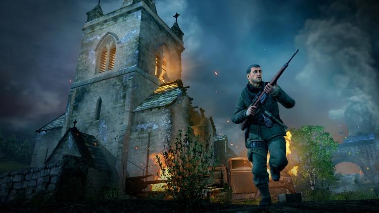 """Трейлер сравнивает Sniper Elite V2 с переизданием, которое выйдет 14 мая"""""""