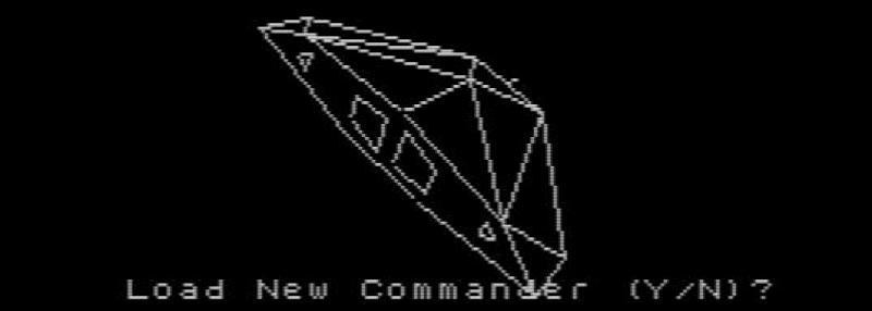 Почти настоящий звездный корвет из Elite (1984)