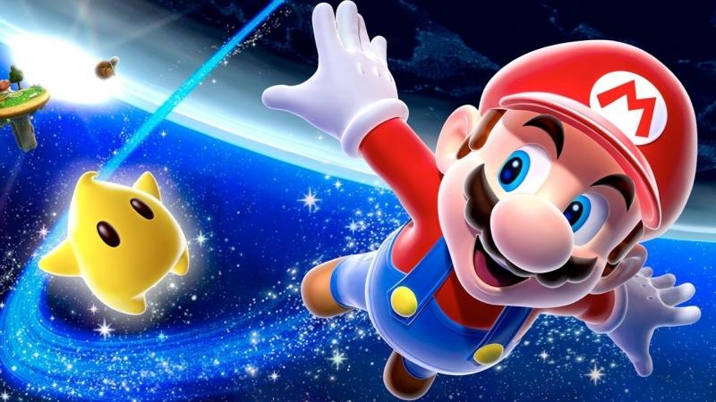 Марио вылетает на задание. Луиджи, к слову, тоже здесь