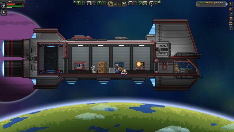 В Starbound кроется просто бездонный геймплей