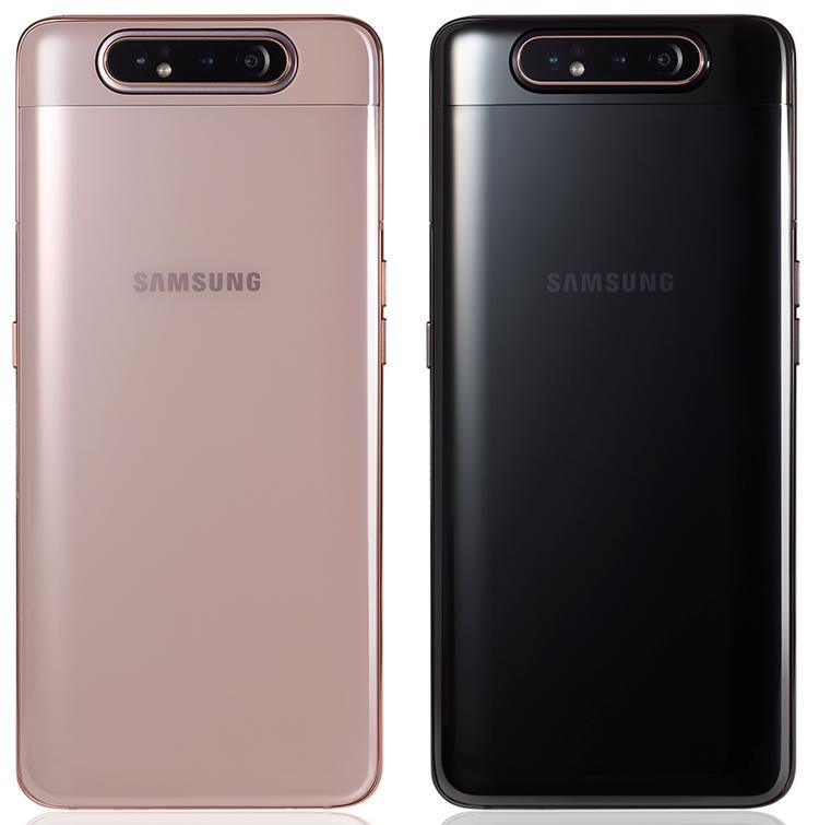 Особенная камера Самсунг Galaxy A80: она выдвигается ивращается