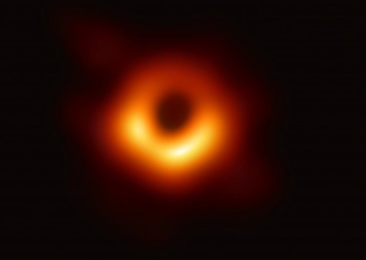"""Фото дня: первое реальное изображение чёрной дыры"""""""