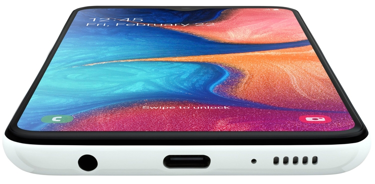 "Смартфон Samsung Galaxy A20e получил 5,8"" дисплей Infinity V"""