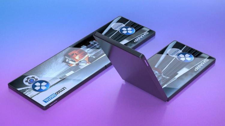 """300 тысяч сгибов: Sharp показала прототип надёжного складного экрана"""""""