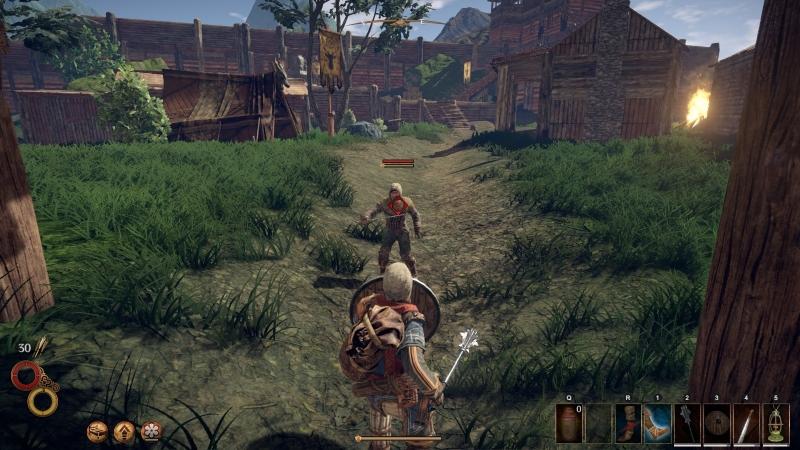 Штурмуем бандитский лагерь
