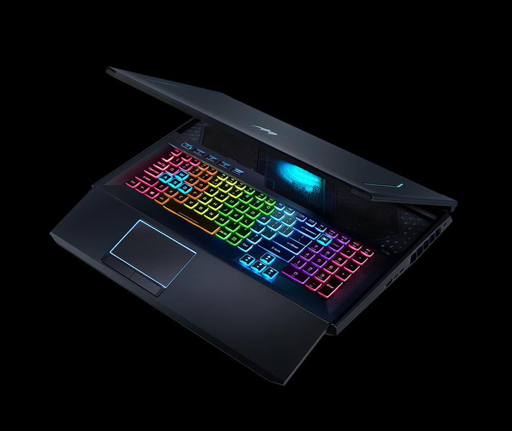 Новая клавиатура поддерживает RGB подсветку, адаптирующуюся под ситуацию в игре