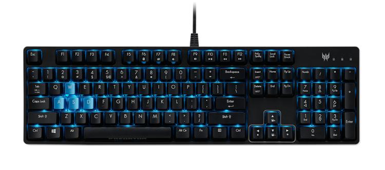 """Acer представила 43-дюймовый игровой монитор Predator CG437K P и обновленную линейку геймерских аксессуаров"""""""