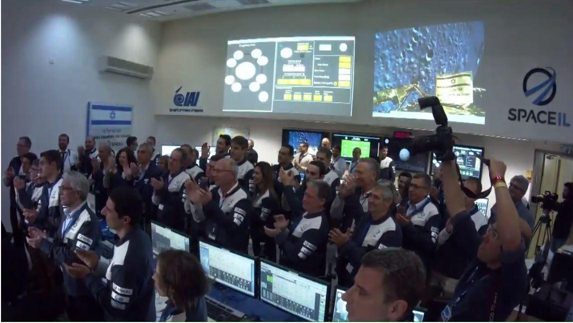 Команда SpaceIL не отчаивается и мы надеемся, что это не последняя их миссия на Луну