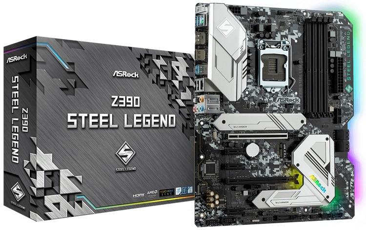 ASRock Z390 Steel Legend: игровая материнская плата повышенной надёжности