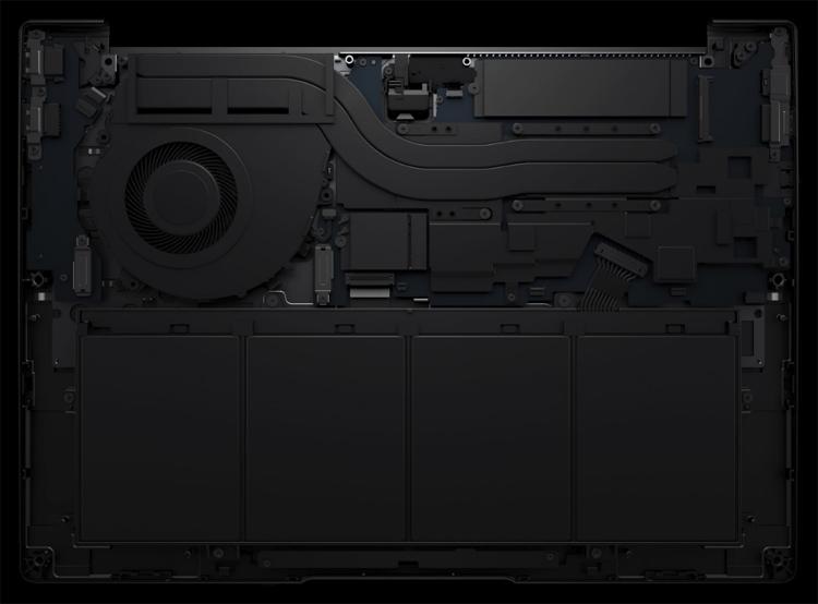 Экран ноутбука Huawei MateBook 14 занимает 90 % площади крышки