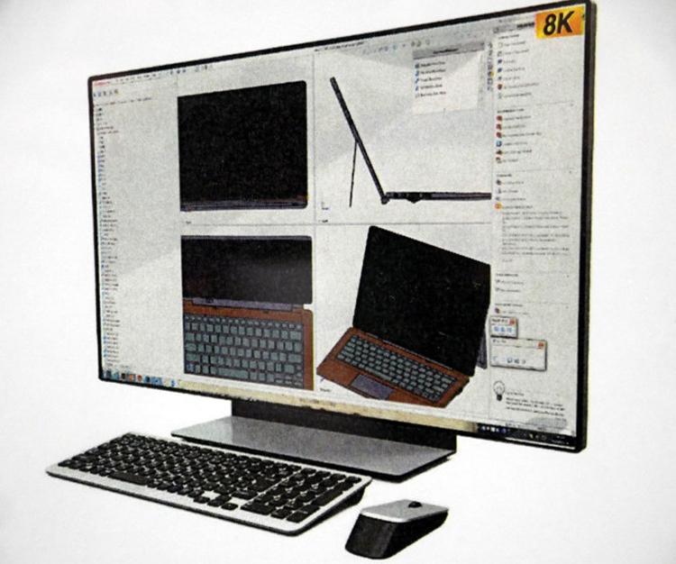"""В Sharp создан 8К-монитор с частотой обновления 120 Гц"""""""