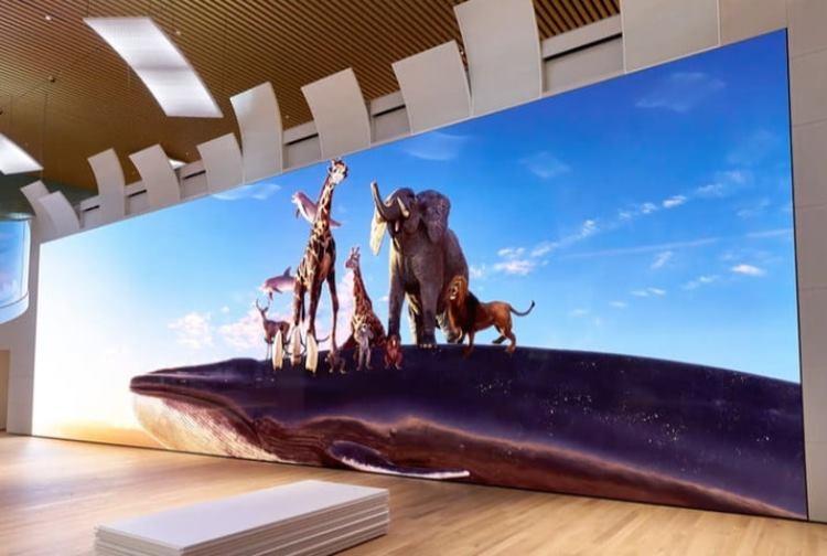 """Sony представила огромный дисплей Micro LED с поддержкой разрешения 16К"""""""