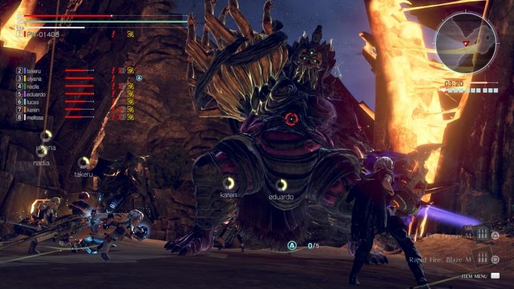 """Видео: ролевой боевик God Eater 3 выйдет на Nintendo Switch"""""""