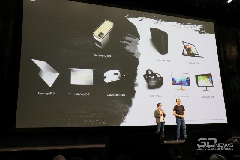 Все новинки Acer ConceptD